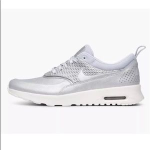 Nike Air Max Light Blue leather gym shoes